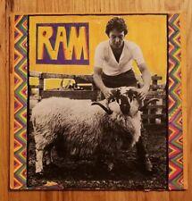 "Beatles Paul McCartney 1971 Apple ""Ram"" LP WINCHESTER PRESS #SMAS 3375 VG+ ORIG"