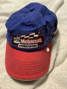 Motorcraft racing Ricky Rudd NASCAR hat