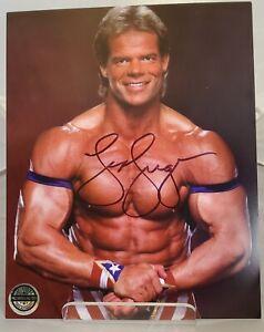 Lex Luger Signed 8 X 10 Photo With COA Sticker WWF WCW