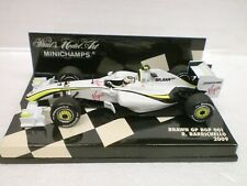MINICHAMPS 1/43 - F1 BRAWN GP BGP 001 2009 - R. BARRICHELLO