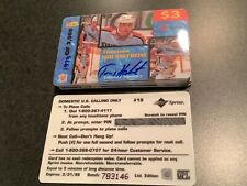 Tomas Holmstrom Red Wings 1995 Signature Rookies Hockey Auto Certified Autograph