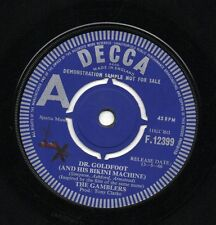 HEAR - THE GAMBLERS - DR. GOLDFOOT - DECCA DEMO 1966 VERY RARE MOD STOMPER