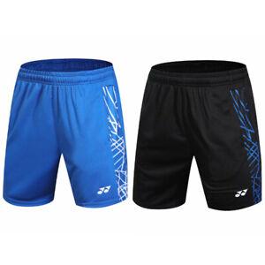 2019 New men's outdoor sports pants badminton Tennis Running shorts 9607
