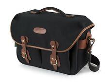 Billingham Hadley ONE Camera / DSLR Messenger Bag in Black with Tan (UK) BNIP
