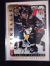 Darrin Shannon 1997 Be A Player Autograph
