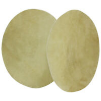 2Pcs Drum Head Buffalo Skin for Bongo Drums Shaman Drums African Drum