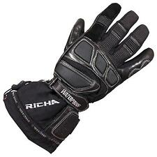 RICHA CARBON WINTER Small BLACK WATERPROOF THINSULATE LINED MOTORCYCLE GLOVES