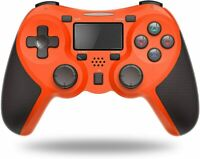 New Orange TERIOS Wireless Controller Gaming Remote Video Game for PS4/PS4 Pro