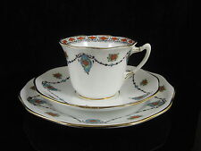 ROSLYN CHINA ART DECO TRIO CUP SAUCER PLATE REID & Co