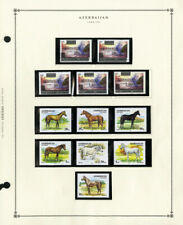Azerbaijan Lovely Mint NH 1992 to 1998 PO Fresh Stamp Collection