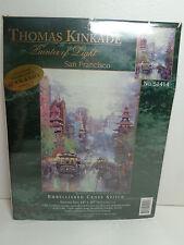 Thomas Kinkade Embellished Cross Stitch San Francisco Candamar Designs 51414