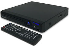 DVD Player Compact Multi Region GTDVD-181 Upscaling HDMI Scart USB & Easy set up