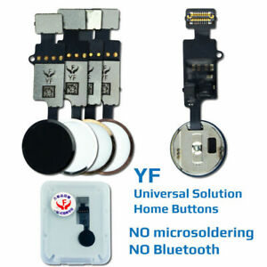 Home button for iphone 7 7 plus 8 8 plus , YF new version no need bluetooth ,