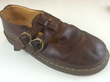 Vintage Women's Dr. Martens 8065 MARY JANE Double Strap Size 7 Made In England