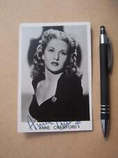 Anne Crawford     Autograph (BC1)