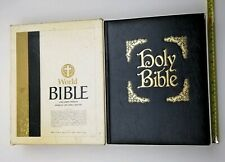 Giant Holy Bible KJV World Large Print Family Red Letter Imitation Leather Big