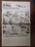 THE DAILY TELEGRAPH NEWSPAPER JUNE 7th 2004 D-DAY REMEMBERED SPECIAL SUPPLEMENT
