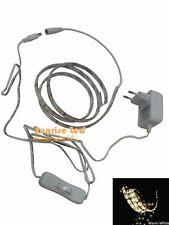 3528 Led Strip 1M 60 leds warm white water proof+12V0.5A adapter EU plug+switch