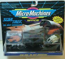 STAR TREK: MICROMACHINES FERENGI MARAUDER, BORG SHIP & SHUTTLECRAFT MODELS