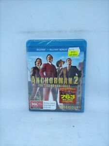 Anchorman 2: The Legend Continues - Region B [AUS] - New/Sealed