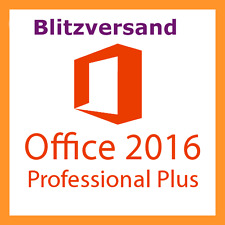 Microsoft Office 2016 Professional Plus | Vollversion | Für 1 PC