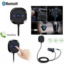 Bluetooth Handsfree Audio Music Receiver 3.5mm Adapter Car Kit AUX USB Charger