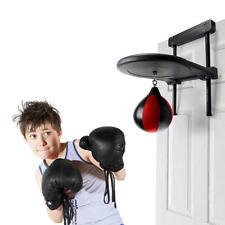 Speed Bag With Adjustable Door Hanging Platform And Pump Kids Punching Practice