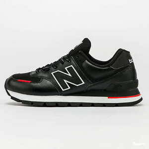 New Balance 574 Men's Fashion Sneakers Casual Shoes Black (D) NWT ML574DTD