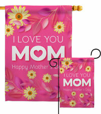 Happy Mother's Day Garden Flag Family Decorative Small Gift Yard House Banner