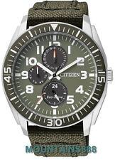 CITIZEN EcoDrive Watch,WR100,Date/Day,12/24Hrs,LowChargeIndicator,Men,AP4011-01W