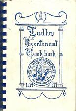 Ludlow, Massachusetts Cookbook - Bicentennial - Portuguese & Polish Ethnic 1974