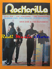 rivista ROCKERILLA 98/1988 Siouxsie Iggy Pop Joe Strummer Primitives  NO cd