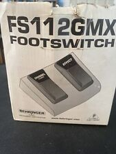 Behringer Fs112Gmx Dual Footswitch Pedal