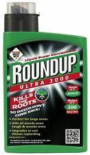 Roundup Ultra 3000 Formula Super Concentrate Weedkiller 1 Litre