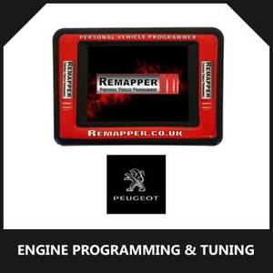 Peugeot - Customized OBD ECU Remapping, Engine Remap & Chip Tuning Tool