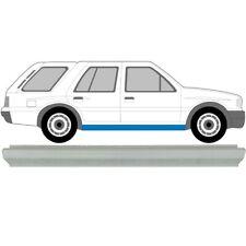 Opel Frontera A 1991-1998 Schweller Reparaturblech / Rechts =  Links
