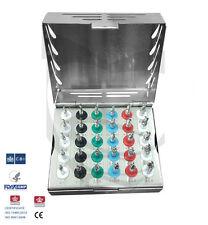 Implante Dental Quirúrgico Taladros Kit con tapón, 30 PC/proffesion implante Kit