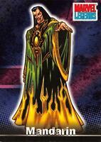 MANDARIN / Marvel Legends (Topps 2001) BASE Trading Card #61