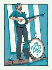 The Avett Brothers 9/20/2019 Poster  Chicago IL Signed A/P Artist Proof
