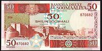 1987 Somalia 50 Shilin - 50 Shillings Banknote * UNC * P-34b *
