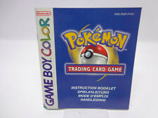 Anleitung - Gameboy Color - Pokemon Trading Card Game