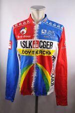 Eddy Merckx ASLK giordana vintage cycling jersey Bike Rad Trikot Jacke 6 XXL U5