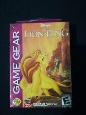 THE LION KING SEGA GAME GEAR NEUF SOUS BLISTER DISNEY LE ROI LION