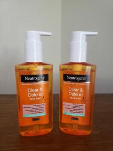 NEUTROGENA~~CLEAR & DEFEND~~FOR SPOT-PRONE SKIN~~FACIAL WASH 6.7 oz PUMP