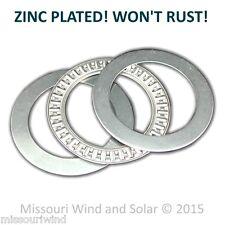 Wind Turbine Generator Yaw Bearing fits 1 1/2 Inch Pipe -- REAL ZINC PLATED!