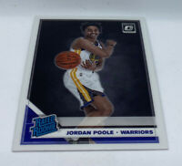 2019-20 Donruss Optic Base Rated Rookies #169 Jordan Poole- Warriors RC