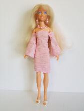 Hasbro Vintage JEM Clothes Pink DRESS & JEWELRY Handmade Fashion NO DOLL d4e