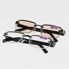 Men High Quality Reading Glasses Magnetic Drilling Metal Crystal Eyewear 1.0-4.0