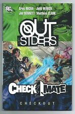 Outsiders / Checkmate Checkout TPB Softcover - FN/VF 1st Printing DC Comics 2008