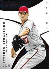 2015 Panini Immaculate Stephen Strasburg 25/25 Red Parallel